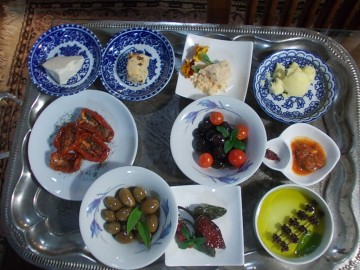 Mit esznek a törökök?