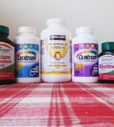 Gyógyszertár, gyógyszerek és vitaminok Kanadából
