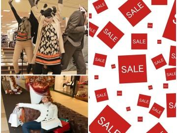 Egy shoppingolós merengése avagy hogyan éljük túl a leárazásokat?