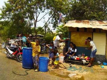 Songkran - a bolondos thai újév