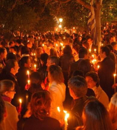 Ortodox húsvétot ünnepel Görögország