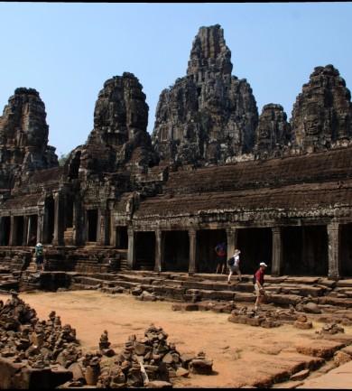 Ősi templomváros Kambodzsában