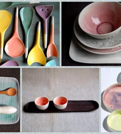 Design kerámia a fagylalt színeiben