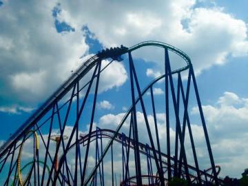 Hullámvasutazás Amerikában - a Six Flags
