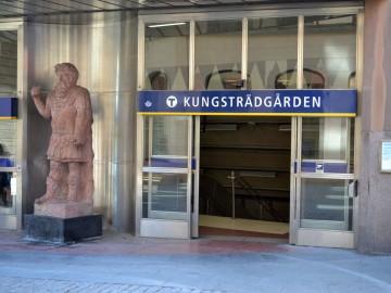 Művészet a svéd metróban