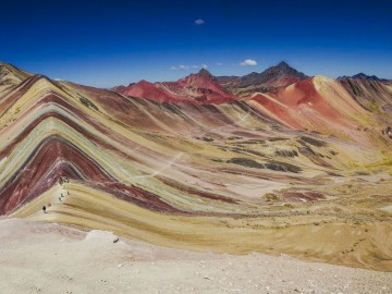 Peru legújabb csodája - a Szivárvány hegy