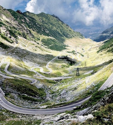 A világ legjobb autóútja Romániában van