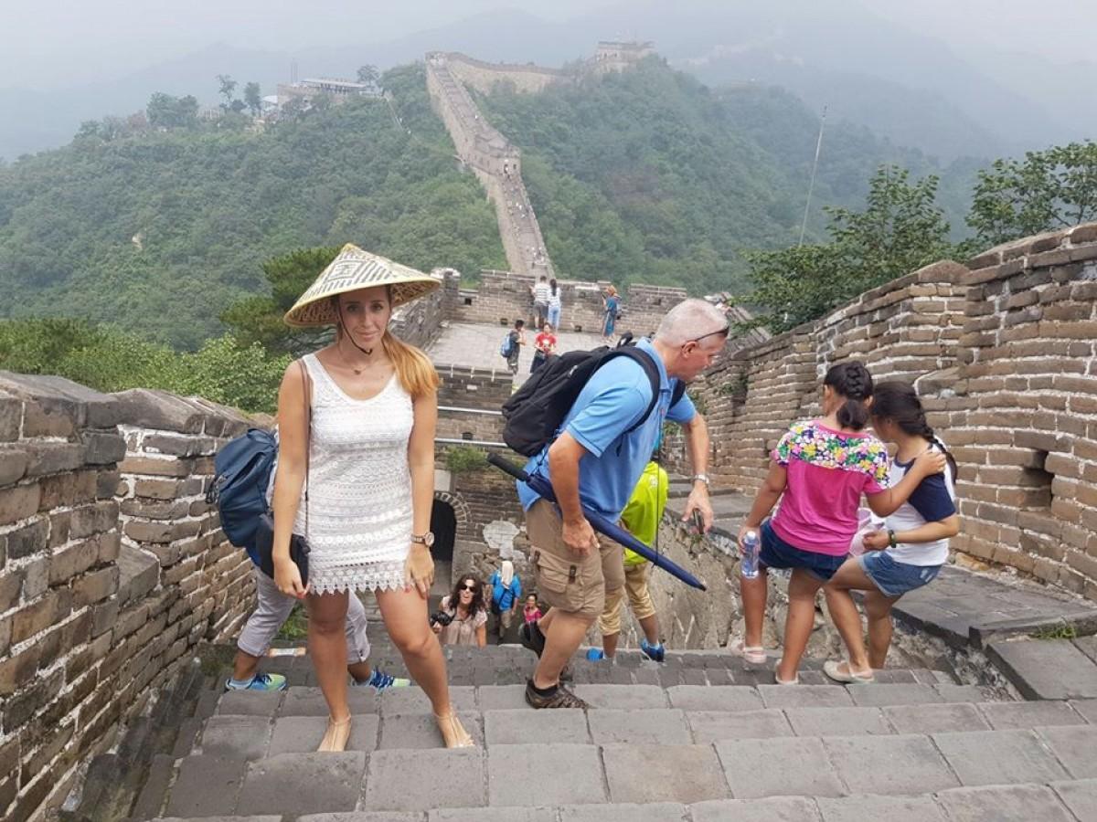 Különleges látogatás a kínai nagy falnál
