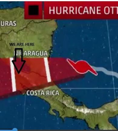 Rémisztő találkozás Ottóval, a hurrikánnal