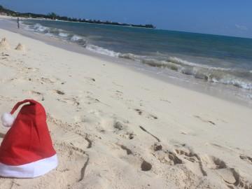 Fehér (homokos) karácsony Mexikóban