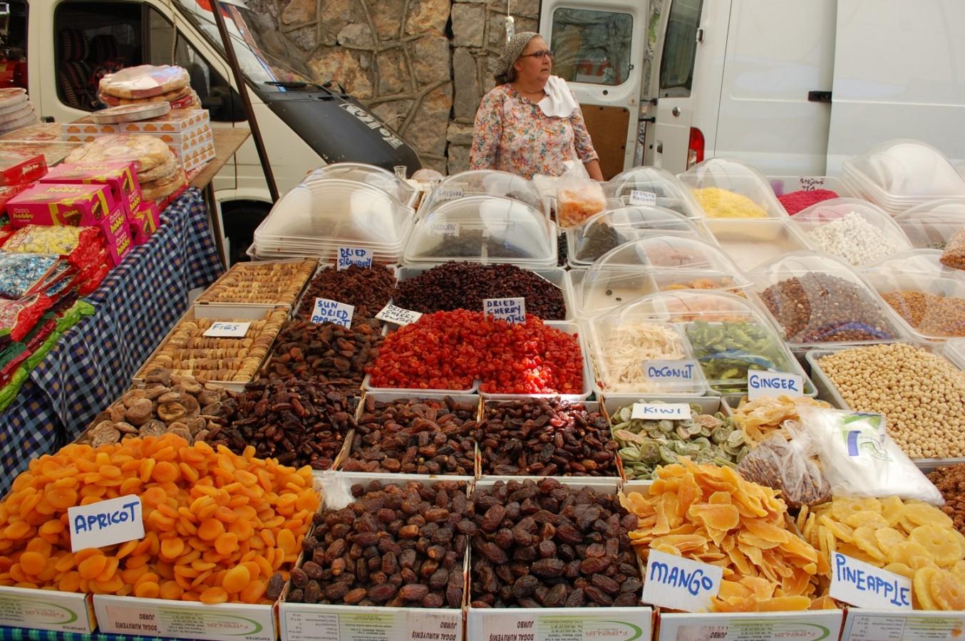 Törökországi július - - III. rész: Piacozás Fethiyében