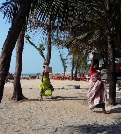 Egy indiai ashram mindennapjai