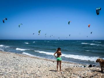 Extrém hétköznapok – kitesurf oktatóként Cipruson