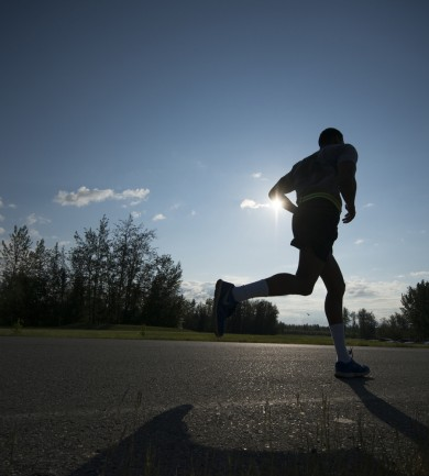 A magyar futó magánya