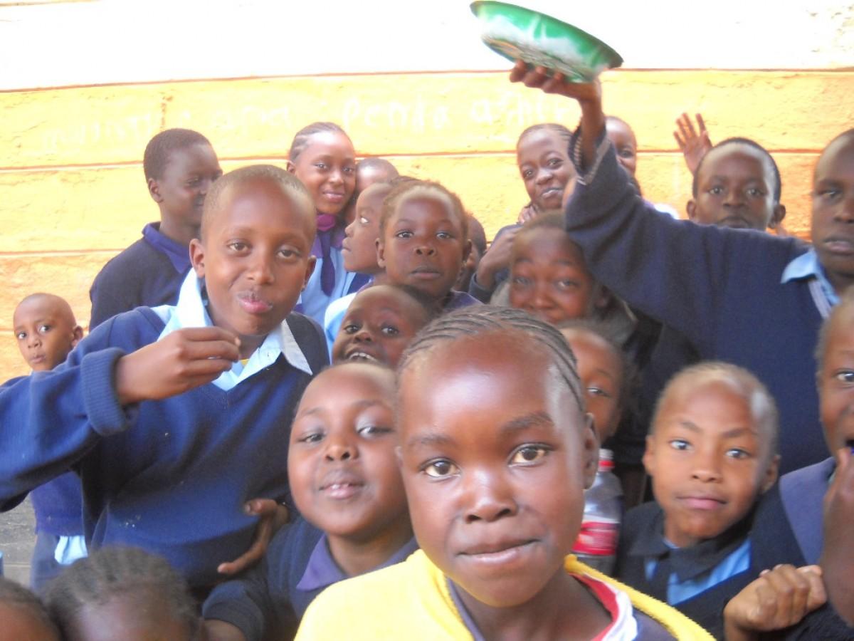 Emlékek a kenyai nyomornegyedekből