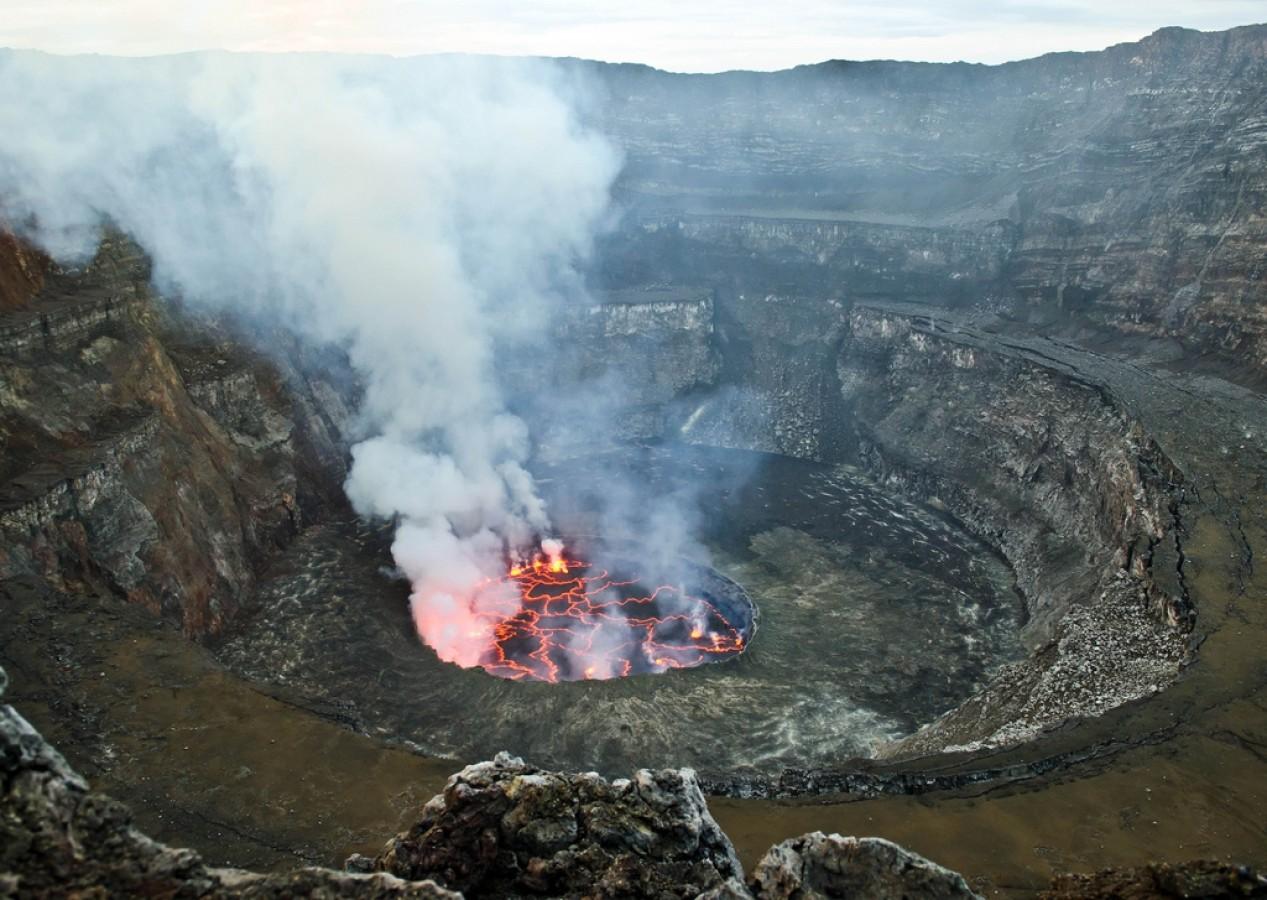 Nyiragongo - majdnem Mordor - Kirándulás Afrika legnagyobb működő vulkánjához