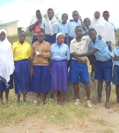Nyolc kis falu Kenyában