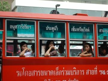 Thaiföld, a mosolyok országa - - 10. rész: Bangkoki benyomások